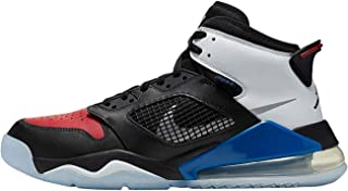 Air Jordan Mars 270 Mens Basketball Trainers Cd7070 Sneakers Shoes, Black/Reflect Silver-gym Red-game Royal, 10