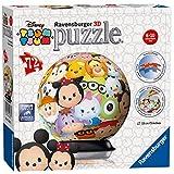 Ravensburger TsumTsum - Puzzle 3D Ball, con 72 Piezas 121885
