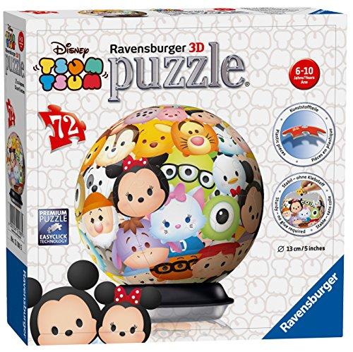 TsumTsum   Puzzle 3D Ball, con 72 Piezas 121885