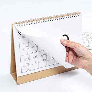 2021年 卓上カレンダー 2021年1月- 2021年12月 実用性 シンプルなデザイン メモを書き込みやすい 事務室用 学生用