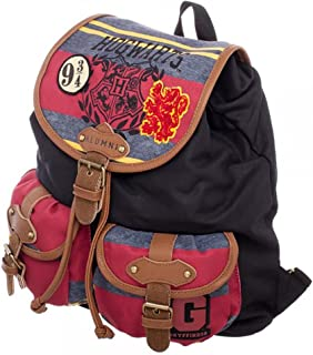 bioWorld Harry Potter Hogwarts Alumni Knapsack Backpack 14 x 18in
