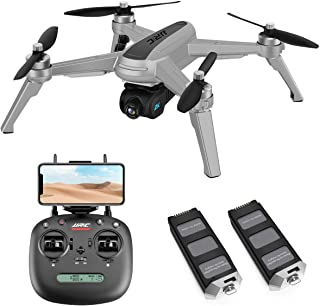 40mins(20+20) Long Flight Time Drone for Adults,JJRC X5 Drone with 2K FHD Camera Live Video, 5G...