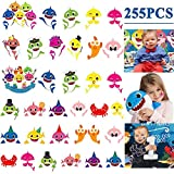 Baby Shark Temporary Tattoos for Kids Birthday Party Favors Goodie Bag Stuffs Baby Shark Party Supplies(9 sheets)