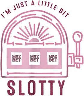 Funny Slot Machine Tshirt I M Just A Little Bit Slotty: Daily Planner - Undated Daily Planner for Staying on Track