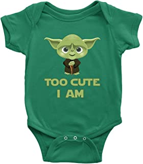 Too Cute I Am Baby Onesie Bodysuit Infant Romper