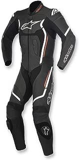 Alpinestars Motegi v2 Leather One-Piece Suit (56) (Black/White)