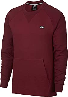 Nike Mens Sportswear Optic Crewneck Pullover, (Team Red/HTR/Team Red, XX-Large)