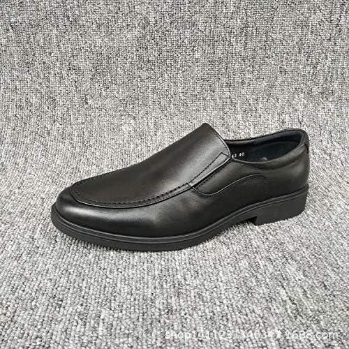 LOVDRAM zapatos De Cuero para Hombre Calzado Casual Clásico Calzado De Vestir De Negocios Calzado Casual De Cuero De Hombre Calzado De Hombre