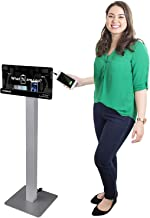 KwikBoost Free Standing Cell Phone Charging Station | Multi-Device Kiosk with 8 Ports | Compatible with iPhone, iPad, Samsung, Tablets and More!