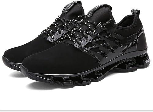 Xie Chaussures Route Homme Homme Homme Grande Taille Hommes Chaussures Summer Fashion Blade Chaussures étudiant Sports Décontracté Chaussures de Course 38-44 b0c
