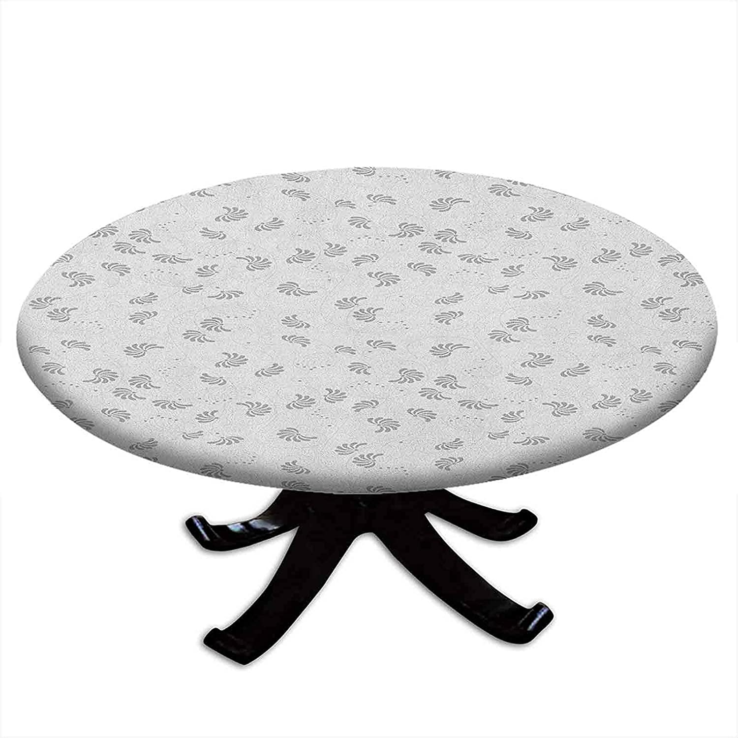 Round Tablecloth with Elastic Pattern Classical Max 67% OFF Artistic Ranking TOP3 Edges