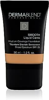 Dermablend Smooth Liquid Foundation with SPF 25, 40C Sepia, 1 Fl. Oz.