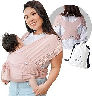 Konny Draagzak | Ultra-lichtgewicht, probleemloze babywikkeldoek | pasgeborenen, zuigelingen tot 46 lbs Peuters | Zachte e...