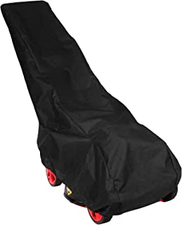 Creative-Idea 193x63.5x112cm Black Universal Waterproof Lawn Mower with Rain Cover Garden Overall Size Drawstring Weather ...