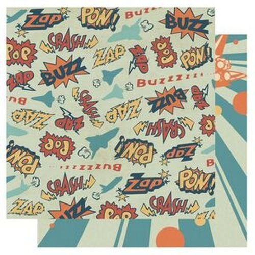 Best Creations Pow 12 x 12 Papier Brillant-Lot de 10