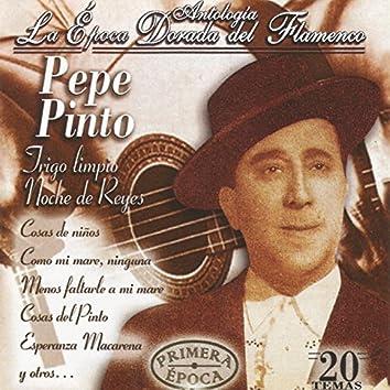 Pepe Pinto, La Epoca Dorada del Flaménco
