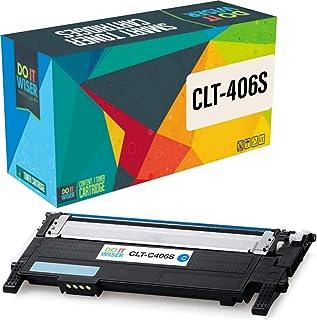 Do it Wiser – Cartucho de tóner Compatible para Usar en Lugar de Samsung Xpress C460W, CLX-3305, CLP-365, CLT-406S, CLP-360, C410W, CLX-3300, C460FW, CLT-P406C, CLX-3305FN, Cian
