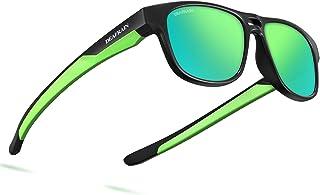 DEAFRAIN Kids Polarized Aviator Sunglasses TPEE Flexible Frame 100% UV Protection for Boys Girls Age 5-13