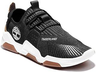 حذاء رياضي رجالي من Timberland Earth Rally FLEXIKNIT OX أزرق منخفض الرقبة (أسود، عدد_11)
