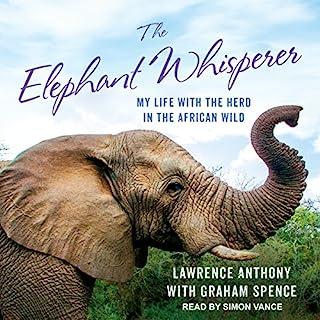 The Elephant Whisperer audiobook cover art