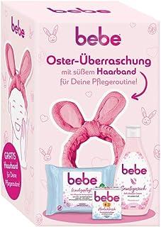 Bebe Oster-Überraschung mit süßem Haarband für deine Pflegeroutine, 3-teiliges Geschenkset für Frauen und Mädchen, enthält...