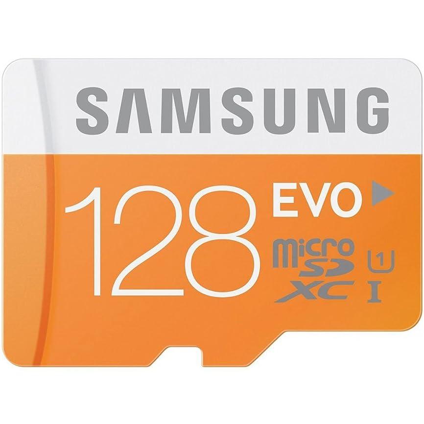 今晩建設アーティストmicroSDXC 128GB Samsung サムスン 超高速Class10 UHS-I  SD変換アダプター付 並行輸入品 (128GB)