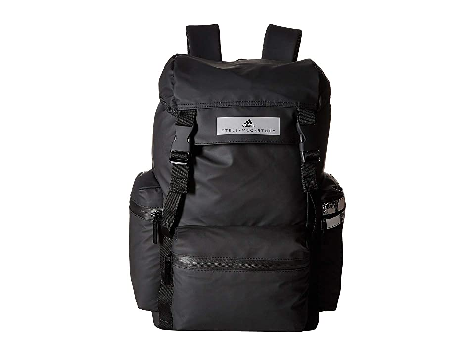 adidas by Stella McCartney Backpack (Black/White) Backpack Bags