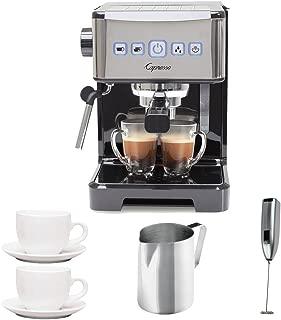Capresso Ultima PRO Programmable Espresso & Cappuccino Machine w/ 2 Cappuccino Cups & Pitcher & Frother