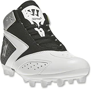 New Mens 2nd Degree 3.0 Lacrosse Mid Cleats Grey/White Sz 11.5 M