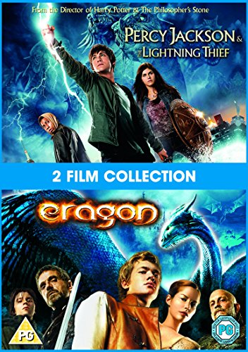 Percy Jackson And The Lightning Thief/Eragon [Edizione: Regno Unito] [Reino Unido] [DVD]