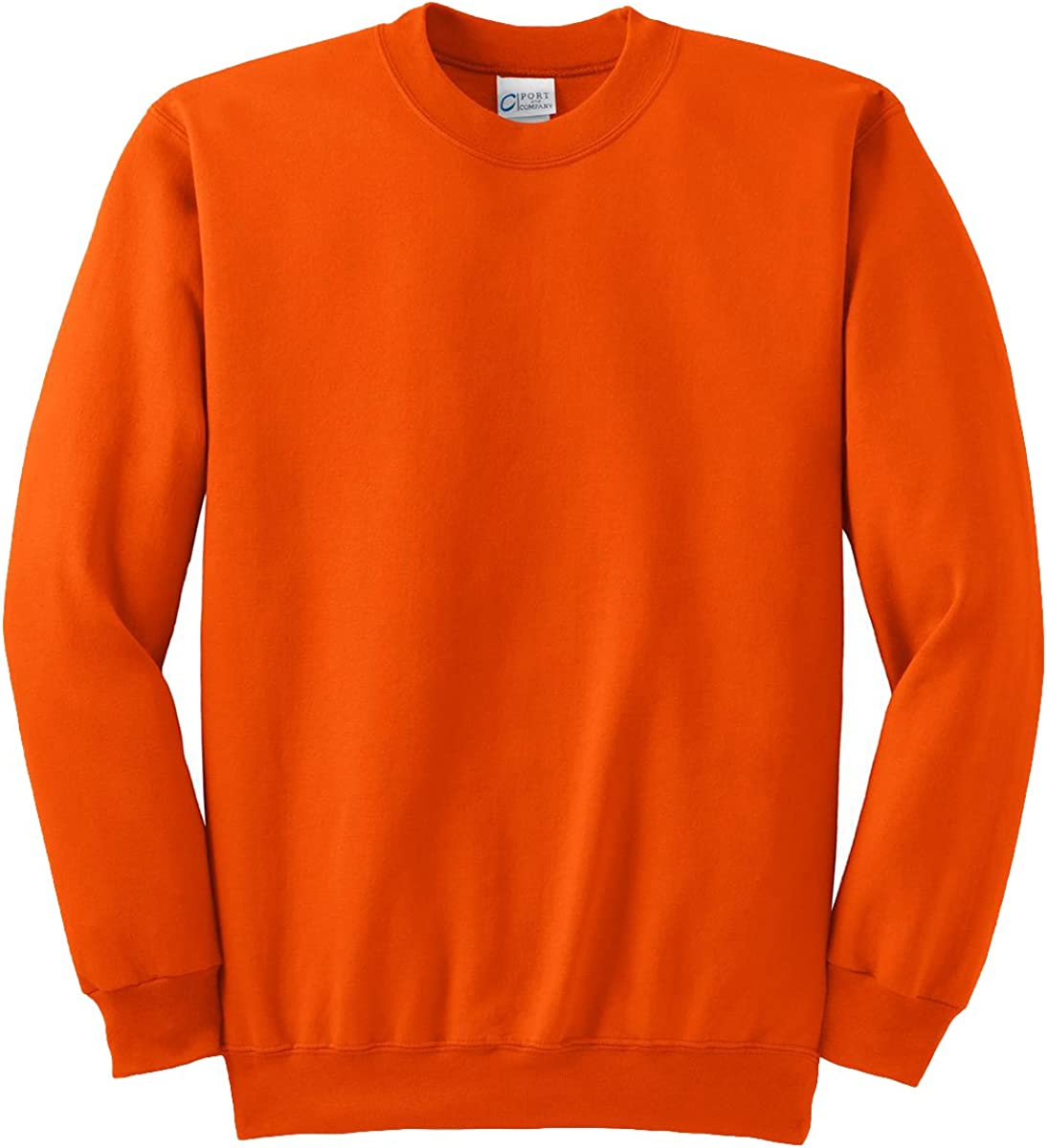 Port & Company Tall Ultimate Crewneck Sweatshirt>4XLT Orange PC90T