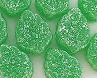 Green Spearmint Leaves Candy 5LB Bag (Bulk)