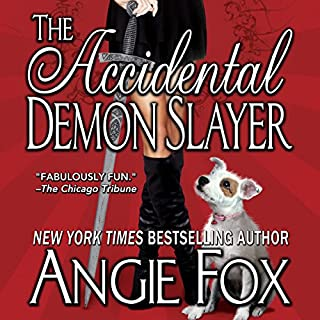 The Accidental Demon Slayer audiobook cover art