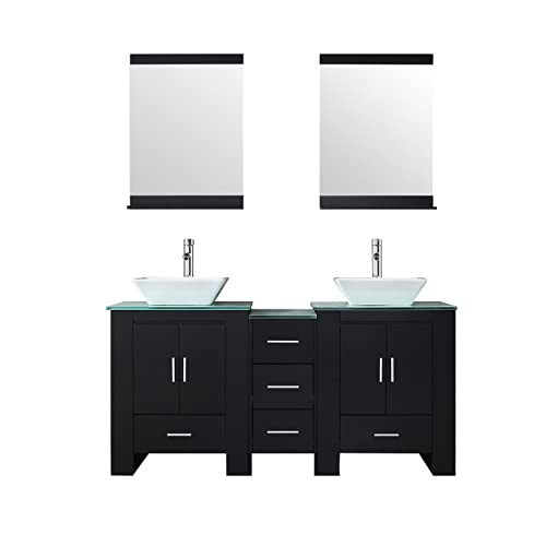 Double Bathroom Vanity And Sink Combo Amazoncom