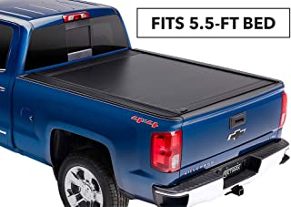 RetraxONE MX Retractable Truck Bed Tonneau Cover | 60461 | fits Chevy & GMC 5.8' Bed (14-18), 1500 Legacy/Limited (2019) & 2500/3500 (15-19)
