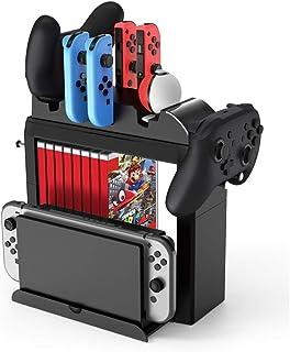 Toys&Hobbies Game CD Card Disk Storage Divider Shelf Gamepad Hook Game Console Holder Multifunction Bracket for Nintendo S...