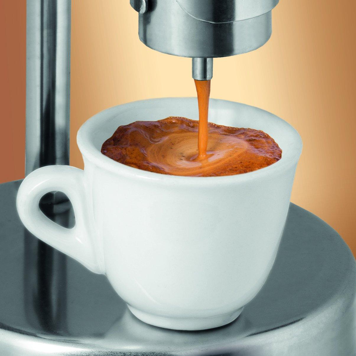 Kamira versión de colores azul claro, el espresso cremoso italiano ...