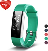 007plus Fitness Tracker HR, ID115 Plus Activity Tracker with Heart Rate Monitor, IP67 Waterproof Smart Watch with Step Counter Calorie Counter Sleep Monitor Pedometer Watch