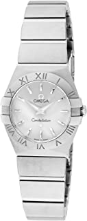 OMEGA Constellation Silver Dial 100M Waterproof 123.10.24.60.02.001 Lady's
