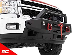 Rough Country EXO Winch Mount System Compatible w/ 2011-2019 Chevy Silverado HD 2500/3500 1-20