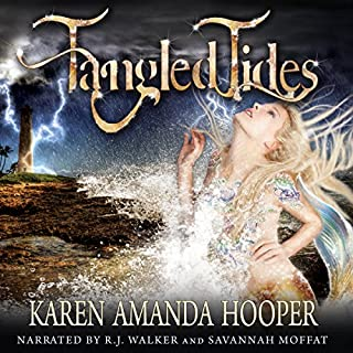 Tangled Tides audiobook cover art