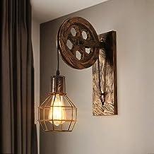KMMK Creatieve wandverlichting - wandlamp E27 vintage retro wandverlichting wandlamp creatieve verlichting voor trappen ha...