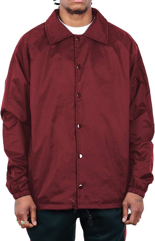 Shaka Wear Men's Coach Purchase Jacket – Windbreaker Ny 35% OFF Classic