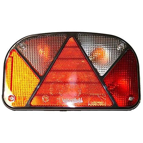 Aspöck Mehrfunktionsleuchte Multipoint II rechts Heck Anhänger Set Asp rot/gelb/