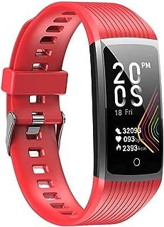 smartwatch super inteligentna bransoletka zegarek mężczyźni kobiety ciśnienie krwi bransoletka fitness krokomierz pulsomet...