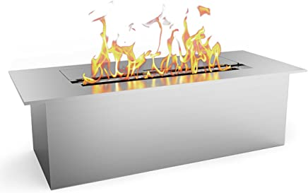 Regal Flame Slim 12 Inch Bio Ethanol Fireplace Burner Insert 1.5 Liter. All Types of Indoor,  Gas Inserts,  Ventless & Vent Free,  Electric,  or Outdoor Fireplaces & Fire Pits.