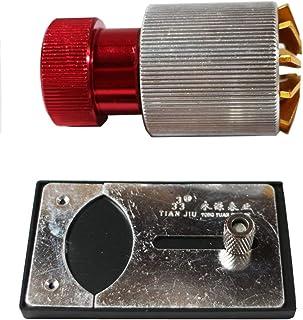 腕時計の表面のガラスは器を取り除いて器の手首の表面を挿入するのと上がります.ガラスは器を取り除いて器の部品の道具と基地を挿入します. Watch Crystal Remover and Inserter