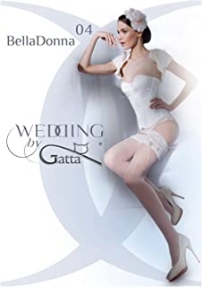 Gatta Wedding Bella Donna 04 - elegante halterlose Strümpfe Hochzeitsstrümpfe