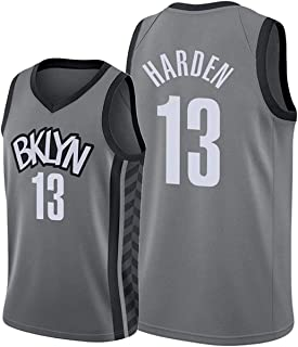 maglia neutra traspirante e resistente allusura t-shirt Black City Edition maglia da pallacanestro S-XXL CNMDG 2021 New Season Brooklyn Nets 13 # James Harden Jersey pantaloni-S