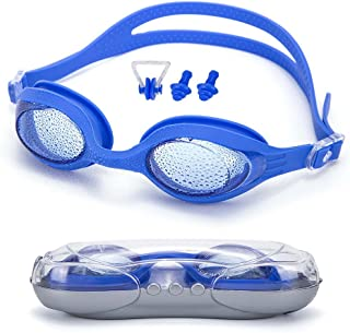 Dreamslink Swim Goggles, Swimming Goggles for Men Women Adult Youth Kids Children, Anti-Fog UV Protection Leak-Proof Triathlon Swim Goggles